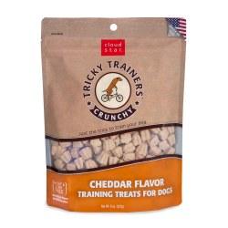 Tricky Trainers Cheddar Crunchy Dog Treats 8oz