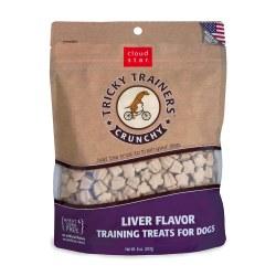 Tricky Trainers Liver Crunchy Dog Treats 8oz