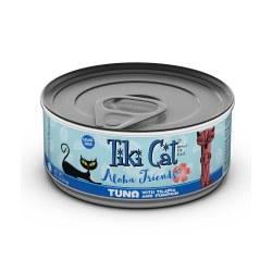Aloha Friends Tuna, Tilapia & Pumpkin Canned Cat Food 3oz