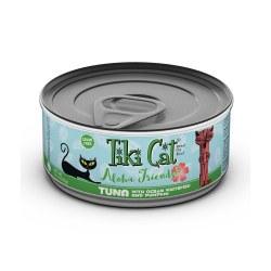 Aloha Friends Tuna, Ocean Whitefish & Pumpkin Canned Cat Food 3oz