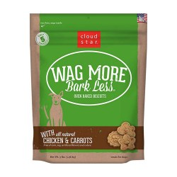 Wag More Bark Less Chicken & Carrots Oven Baked Dog Treats 3lb