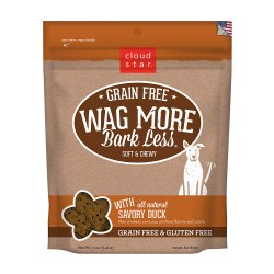 Wag More Bark Less Savory Duck Soft and Chewy Dog Treats 5oz