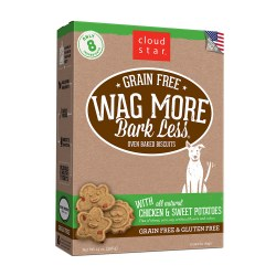 Wag More Bark Less Chicken & Sweet Potatoes Oven Baked Dog Treats 14oz