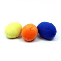 Squeakin' Eggs Dog Toys 3pk
