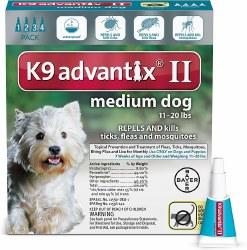 K9 advantix Dog Flea & Tick Treatment (11-20lb) 4pk