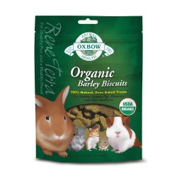 Bene Terra Organic Barley Biscuits Small Animal Treat 2.65oz