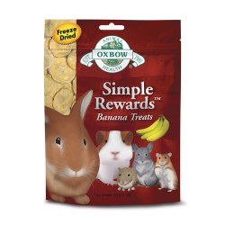 Simple Rewards Banana Small Animal Treat 1oz