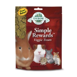 Simple Rewards Oven Baked Veggie Small Animal Treat 2oz
