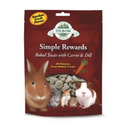 Simple Rewards Oven Baked Carrot & Dill Small Animal Treat 2oz