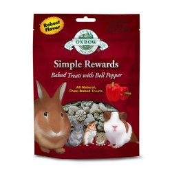 Simple Rewards Baked Bell Pepper Small Animal Treat 2oz