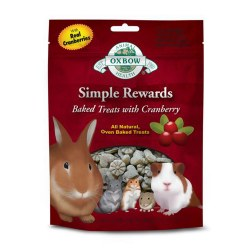 Simple Rewards Oven Baked with Cranberry Small Animal Treat 2oz