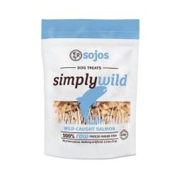 Wild Simply Sockeye Dog Treats 2.5oz