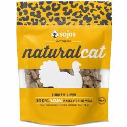Natural Cat Turkey Liver Cat Treats 1oz
