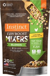 Raw Boost Mixers Blends Chicken Recipe Freeze Dried Dog Meal Topper 5.5oz