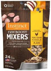 Raw Boost Mixers Chicken Freeze Dried Dog Food 6oz