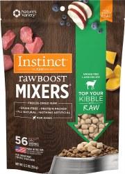 Raw Boost Mixers Lamb Freeze Dried Dog Food 12.5oz