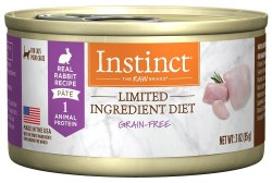 Limited Ingredient Diet Rabbit Canned Cat Food 3oz
