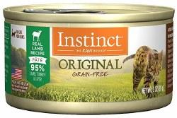 Original Lamb Canned Cat Food 3oz