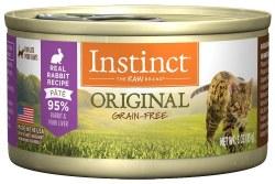 Original Rabbit Canned Cat Food 3oz