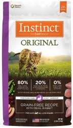 Original Rabbit Dry Cat Food 4.5lb