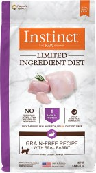 Limited Ingredient Diet Rabbit Dry Cat Food 4.5lb
