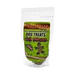 Alien Invasion Beef, Spinach & Oatmeal Dog Treats 4oz