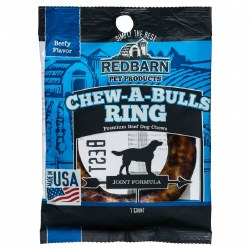 Chew-A-Bull Ring Beef Flavor Dog Chew