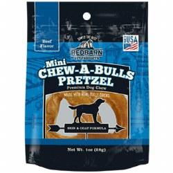 Chew-A-Bull Beef Flavor Mini Pretzel Dog Chew