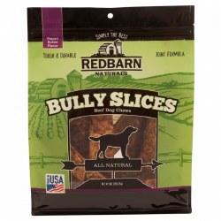 Peanut Butter Flavor Bully Slice Dog Chews 9oz