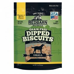 Grain Free Cheese & Bacon Dipped Dog Biscuits Small 9oz