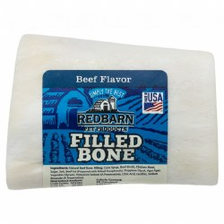 Beef Flavor Filled Bone Dog Chew Small