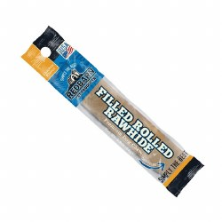 Chicken Flavor Filled Rolled Rawhide Dog Chew