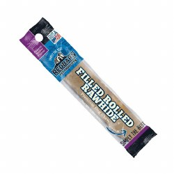 Peanut Butter Flavor Filled Rolled Rawhide Dog Chew