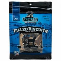 Beef Flavor Filled Dog Biscuits 14oz