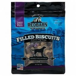 Peanut Butter Flavor Filled Dog Biscuits 14oz