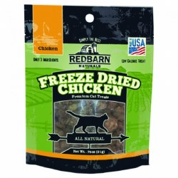 Chicken Freeze Dried Cat Treats .75oz
