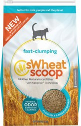 sWheat Scoop Fast-Clumping Cat Litter 25lb
