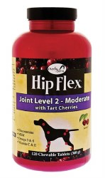 Overby Farm Hip Flex Joint Level 2 Chewable Tablets for Dogs 120ct