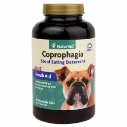 Coprophagia Stool Eating Deterrent Chewable Tablets for Dogs 60ct