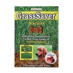 Grass Saver Peanut Butter Flvor Dog Biscuits 11.1oz