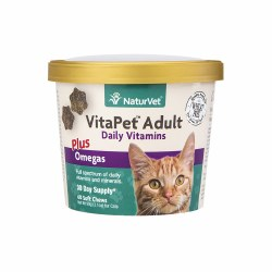 VitaPet Adult Daily Vitamins Cat Soft Chews 60ct