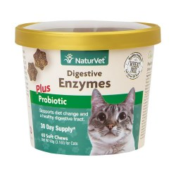 Digestive Enzymes Cat Soft Chews 60ct