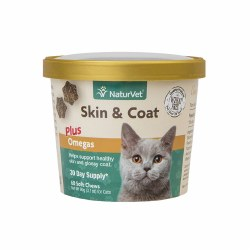 Skin & Coat Cat Soft Chews 60ct