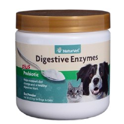 Digestive Enzymes Powder for Dogs and Cats 8oz