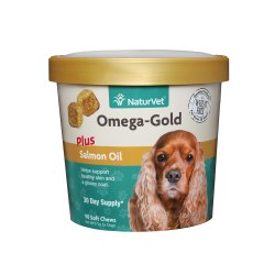 Omega Gold Dog and Cat Soft Chews 90ct