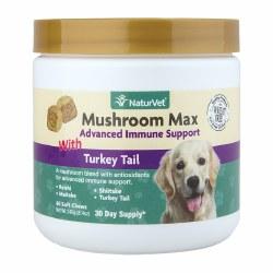 Mushroom Max Advanced Immune Support Dog and Cat Soft Chews 60ct