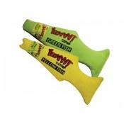 Green & Yellow Fish Catnip Cat Toy