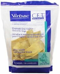 C.E.T. Enzymatic Dental Chews 30ct Extra Large