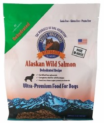 Grain Free Dehydrated Alaskan Wild Salmon Dog Food 1lb
