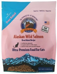 Grain Free Oven-Baked Salmon Cat Food 1lb
